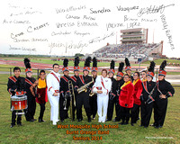 Burnt Orange Band Senior Photo 2014